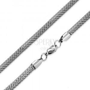 Ocelový řetízek v provedení lesklý had