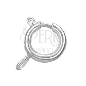 Ocelový pérový kroužek na řetízek, 6 mm