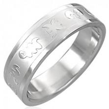 Prsten z chirurgické oceli - zvěrokruh