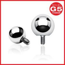 Kulička do implantátu z oceli 316L - anodizovaný povrch, různé barvy, 3 mm