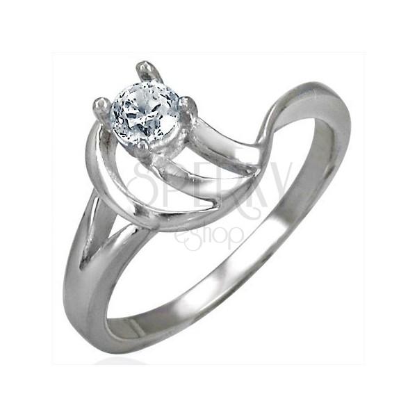 Zásnubní prsten složitý vzor