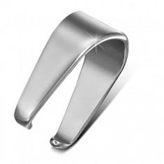 Ocelový háček stříbrné barvy na přívěsek, 4,5 mm
