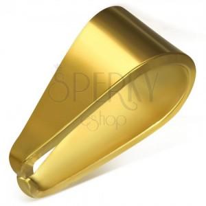 Zlatý náhradní háček z chirurgické oceli, 4 x 9 mm