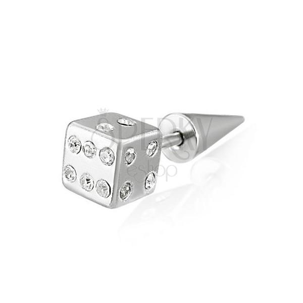 Fake expander - hrací kostka se zirkony