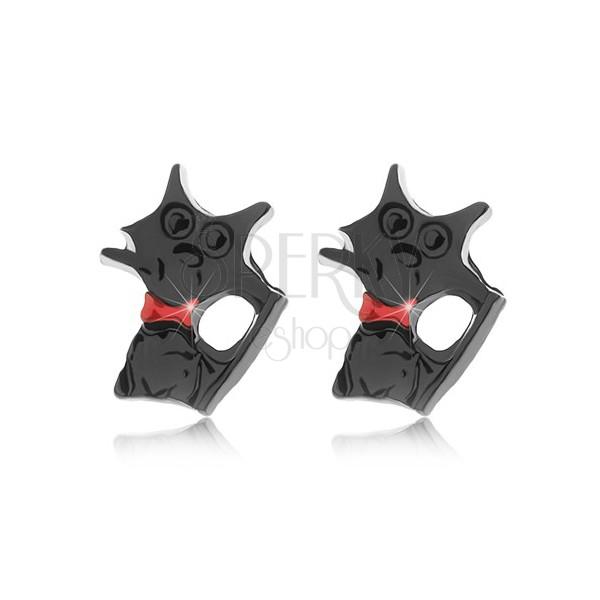 krk černá kočička
