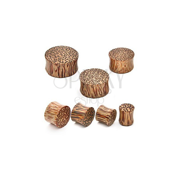 Plug do ucha - kokosové dřevo