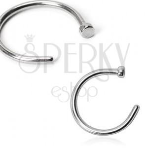 Piercing do nosu z oceli - kroužek | Šperky Eshop