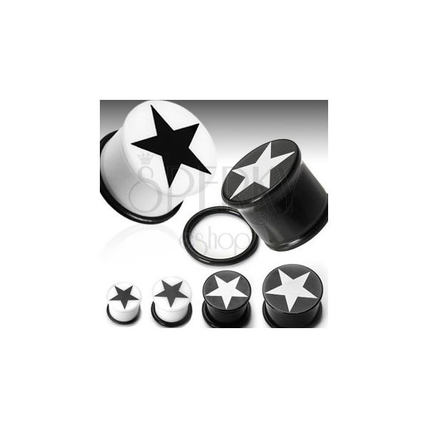 Plug do ucha symbol hvězda