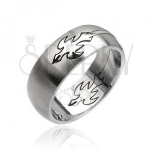 Prsten z oceli - letící orel
