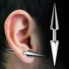 Piercing do ucha čínka - Barbell s hroty basic, různé velikosti