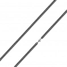 Řetízek z 316L oceli - zatočená kulatá očka, PVD úprava, 2 mm