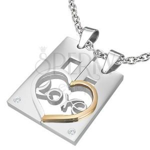 dvojprivesek-z-oceli-pro-zamilovane-love-obdelnik-a-srdce.jpg