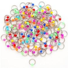 Piercing kroužek s kuličkami