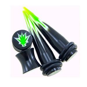 Taper a plug Marihuana - set 2ks plug + 2ks taper