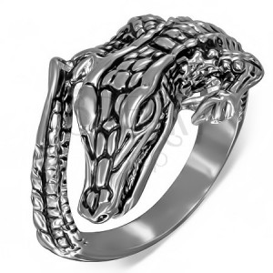Prsten z oceli - krokodýl
