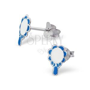 Náušnice ze stříbra 925 - kouzelné zrcadlo
