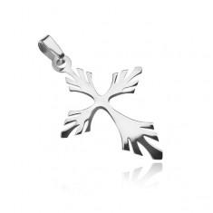 Stříbrný přívěsek - rozvětvený křížek Z8.19