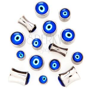 Sedlový plug z chirurgické oceli - Ďáblovo oko