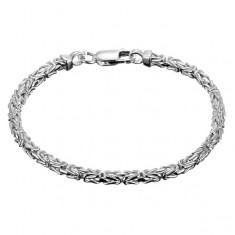 Náramek ze stříbra 925 - byzantský prodloužený motiv